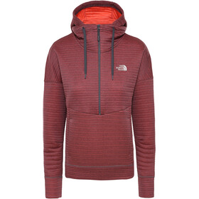 The North Face Hikesteller Hættetrøje Damer, vanadis grey/radiant orange